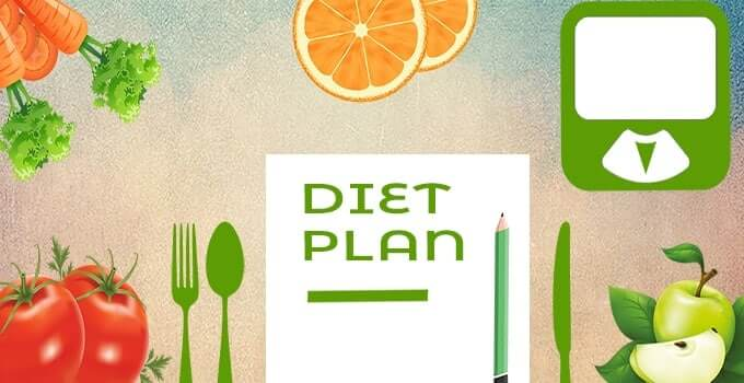 Diet plan for pregnant woman