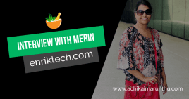 "An interview with Sujana founder of ""enriktech.com"""