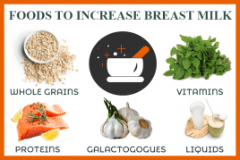 How to increase Breast Milk Supply Naturally? – 10 Simple Recipes!